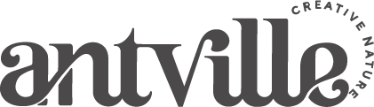 Antville logo grigio dicembre 2